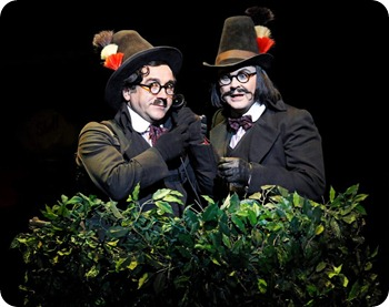 Chitty Chitty Bang Bang Musical Australia -  Vulgarian Spies Boris and Goran - Sydney Melbourne Australia 2013