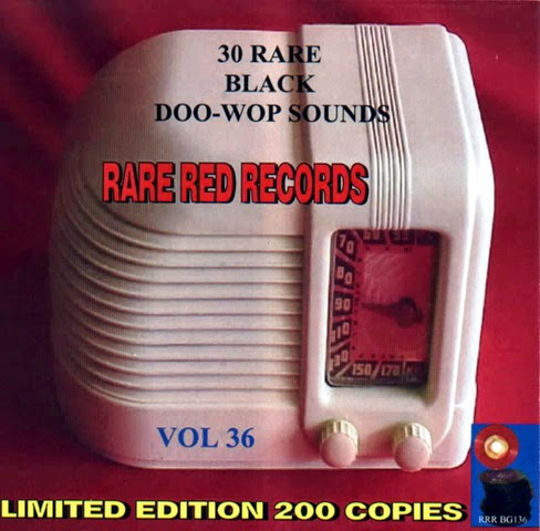 Rare Black Doo-Wop Sounds Vol. 36 - 31 - Front