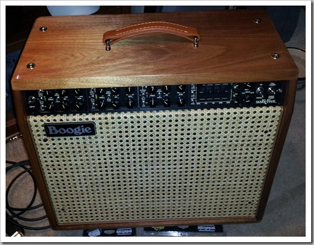 Bob's NEW Mesa Boogie Mark V Combo Amp (005)