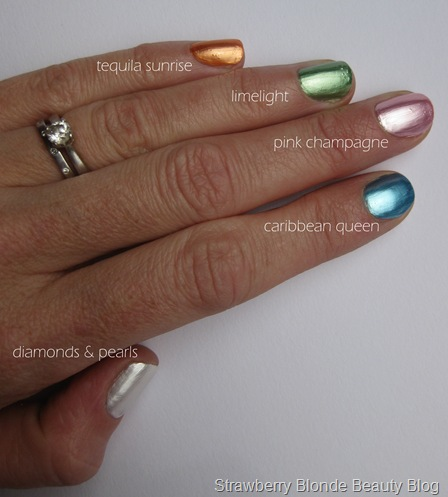 MyFace Lil Bling Nail Polish Swatches