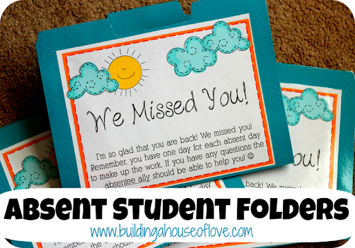 Absent Student Folders