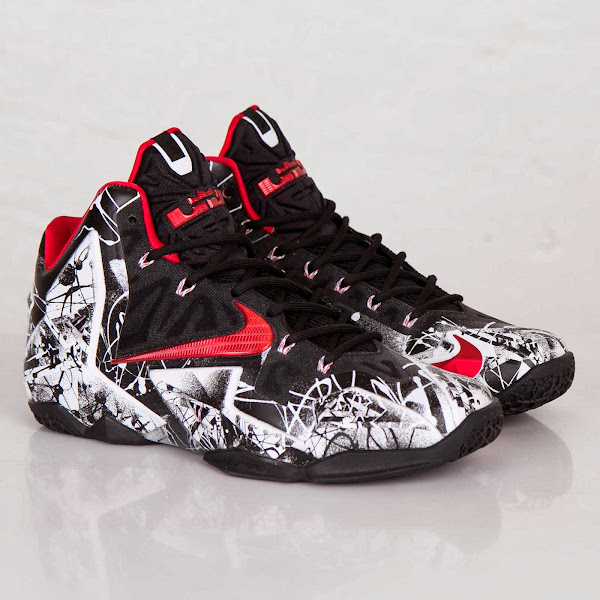 One More Look at the Just Released 8220Graffiti8221 Nike LeBron 11