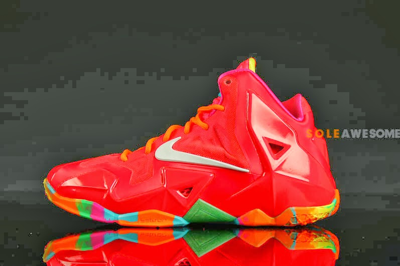 "Another Look at ""Fruity Pebbles"" LeBron 11 GS (621712-600 ..."