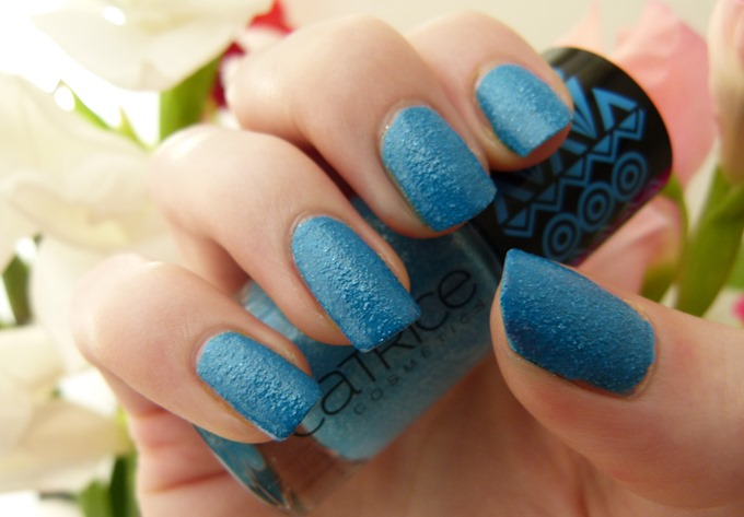 Catrice Afrique Sand nagellack blau