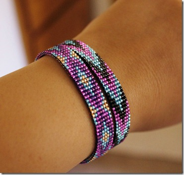 native metallic loom bracelet anabel campbell