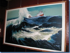 5176 Michigan - Sault Sainte Marie, MI - Museum Ship Valley Camp - Edmund Fitzgerald exhibit