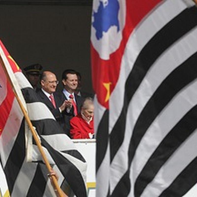 Alckmin lembra heróis nos 80 anos da Revolução de 32