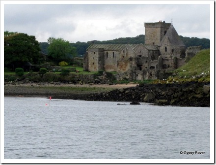 12th century Abbey on Inchcolm Island.