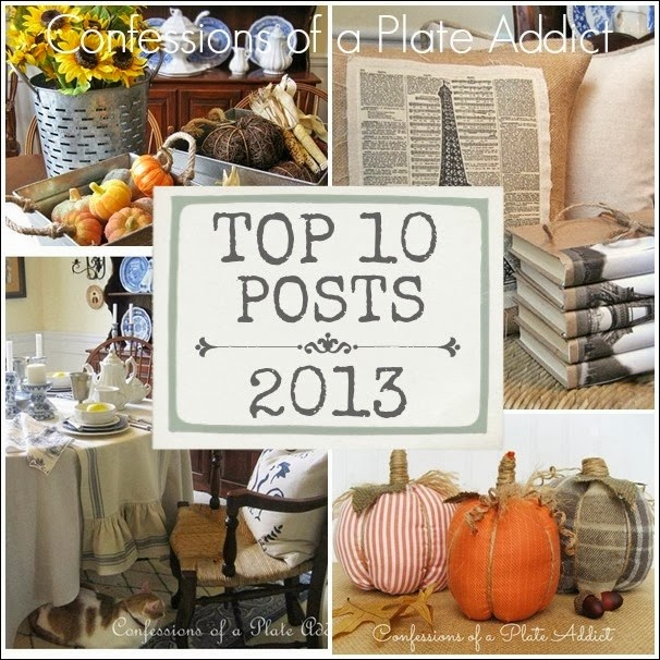 CONFESSIONS OF A PLATE ADDICT Top 10 Posts of 2013