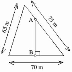 triangoli simili e aree