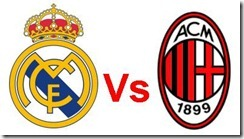 real madrid vs milan