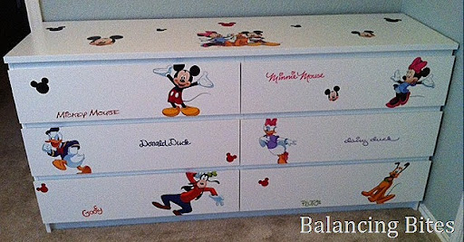 New Mickey Mouse Ikea Dresser