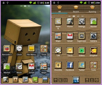 box robot go launcher ex