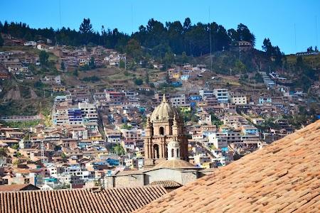 Cazare Peru: Vedere Cuzco din hotel