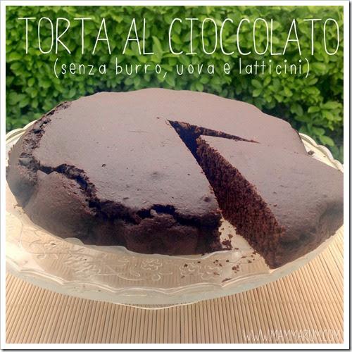 torta al cioccolato senza