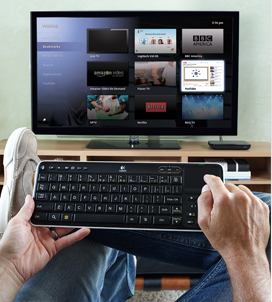 GoogleTV on Logitech Revue