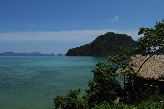 View of the bay from Corong Corong, Palawan