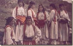 Donne dell'Albania settentrionale (Mirdita) - Foto: Luigi Pellerano.