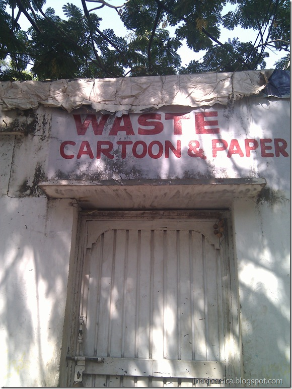 Waste Cartoon & Paper