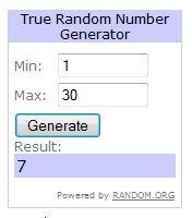 SR Random Winner