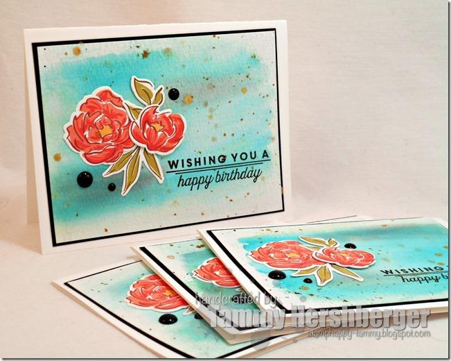 Stamp Happy Birthday Gift Card Sets
