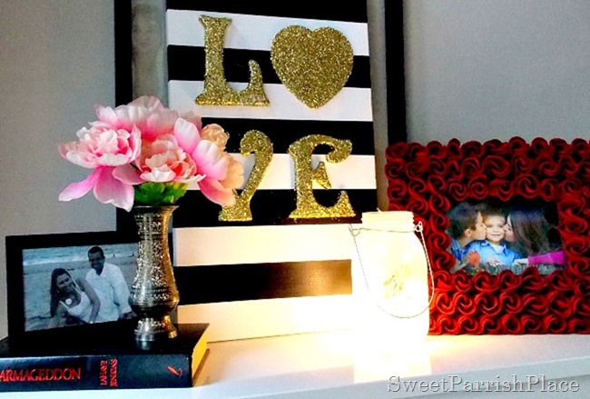 DIY Love Canvas Art9