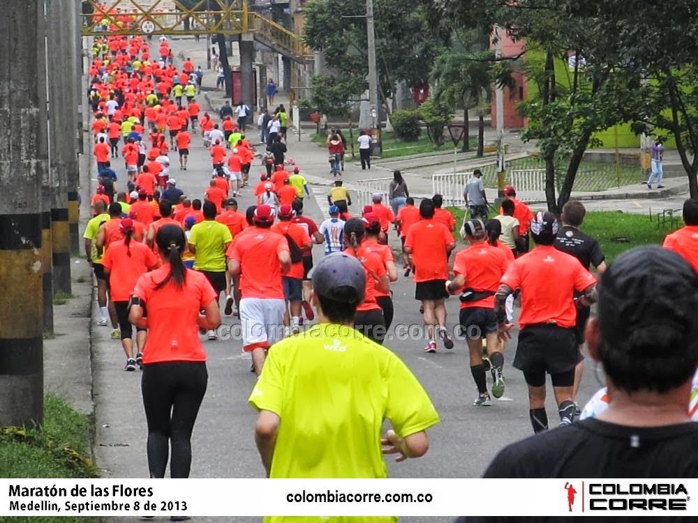 Atletas de más de 32 países en las Maratón de las Flores 2014