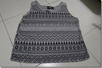 tribal print tank top