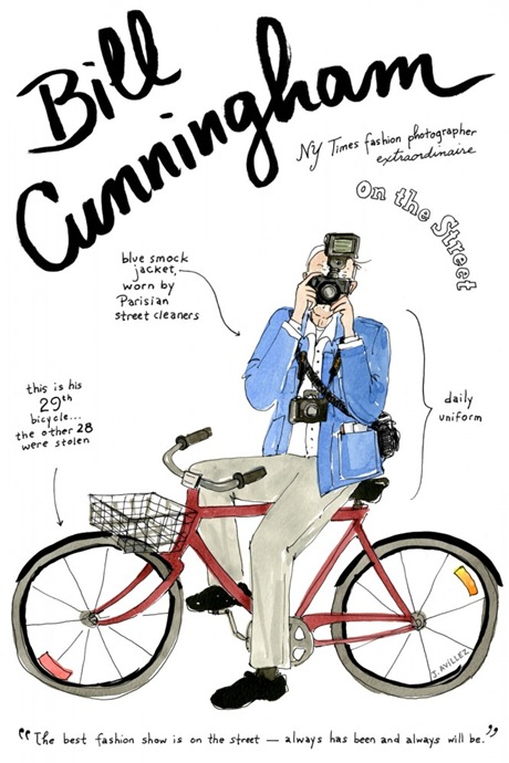 bill cunningham by joana avillez