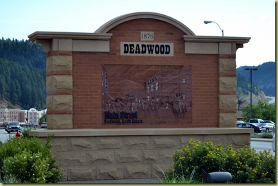 Deadwood Entrance