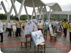 Pameran Karya Seni Rupa III PAKASERU III di SMAN Pintar Kabupaten Kuantan Singingi 3