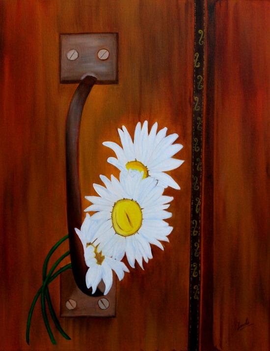 Romance oil painting