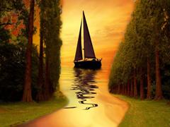 perahu kehidupan