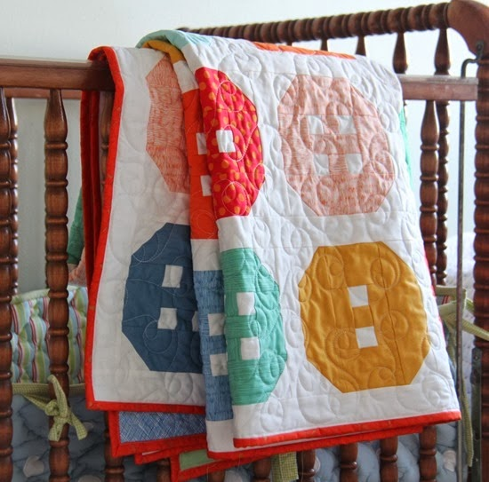 Buttons Quilt Crib size