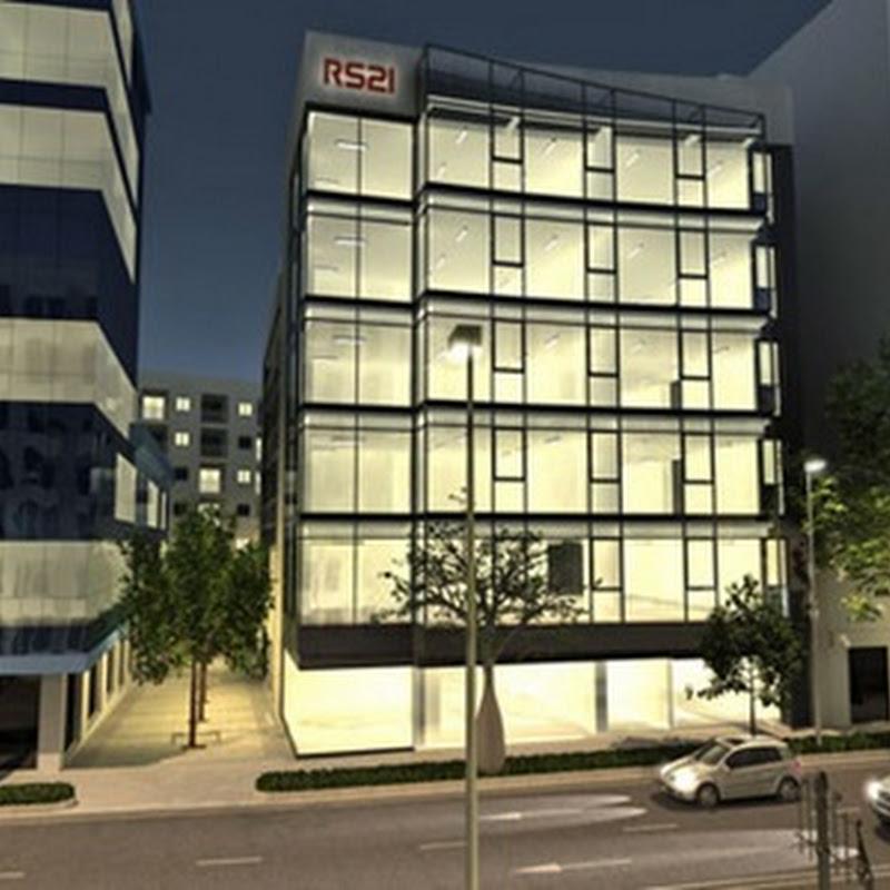 Edificio RS21 considerado como el primer edificio High Tech con eficiencia energética