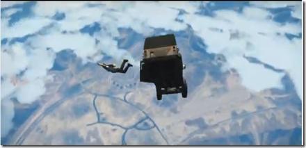 GTA 5 Micheal Jump