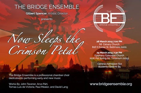 The Bridge Ensemble - Now Sleeps the Crimson Petal