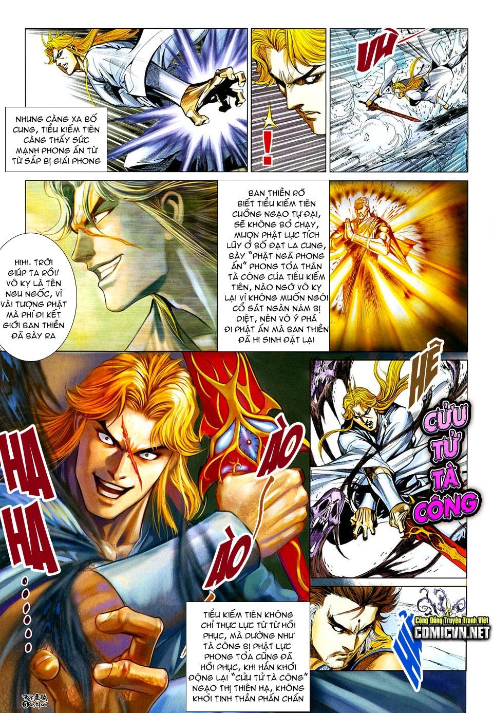 Thiên Hạ Vô Địch Tiểu Kiếm Tiên chap 32 - Trang 5