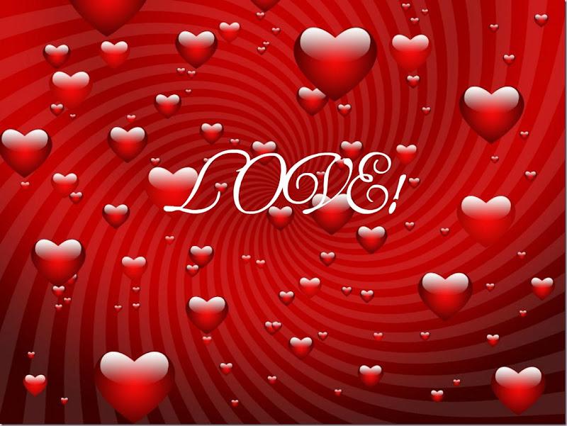LOVE, Valentine Day Card background