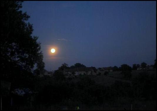 Volle maan vanuit Brenazet