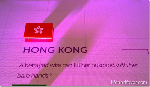 Hong Kong sex trivia