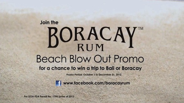 Boracay rum promo