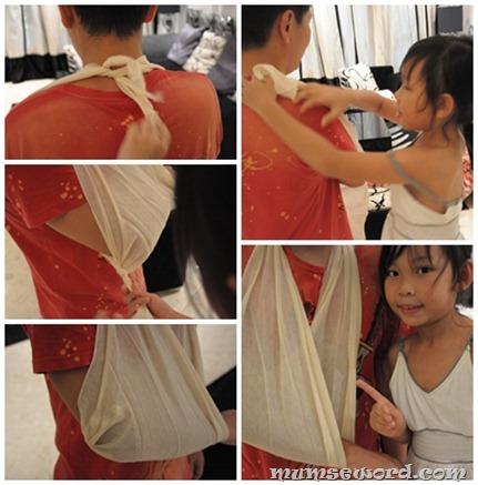 Nicole Triangular Bandage