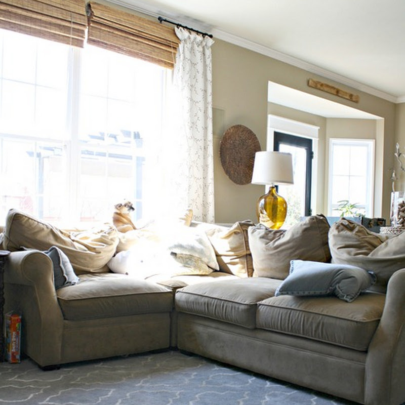 The family room sectional