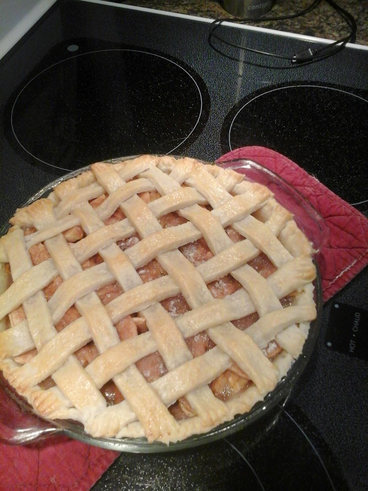 how to make pie crust shiny
