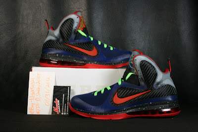nike lebron 9 xx nerf custom 2 03 Another Chance to Get Your LeBron 9 Nerf Custom Kicks