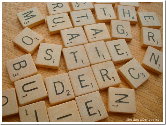 {NorthernCottage} scrabble disarray