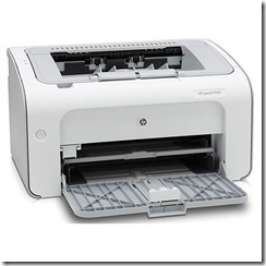 Installing HP Laser Jet P1102 On Windows 7