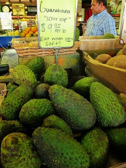 Robert is Here Fruit Stand Guanabana