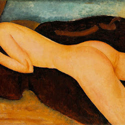Modigliani, Nudo coricato di spalle 1917.jpg